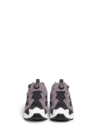 Front View - Click To Enlarge - Reebok - 'InstaPump Fury OG ACHM' slip-on sneakers