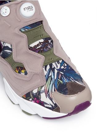 Reebok-'InstaPump Fury SG' botanical print sneakers