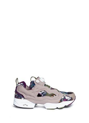 Main View - Click To Enlarge - Reebok - 'InstaPump Fury SG' botanical print sneakers