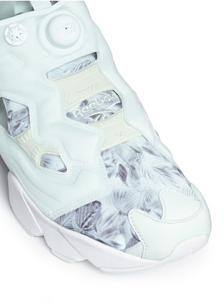 Detail View - Click To Enlarge - Reebok - 'InstaPump Fury SG' botanical print sneakers