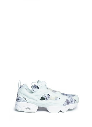 Main View - Click To Enlarge - Reebok - 'InstaPump Fury SG' botanical print sneakers