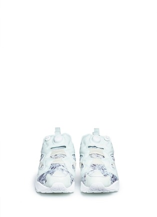 Figure View - Click To Enlarge - Reebok - 'InstaPump Fury SG' botanical print sneakers
