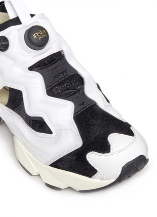 Detail View - Click To Enlarge - Reebok - 'InstaPump Fury OG ACHM' slip-on sneakers