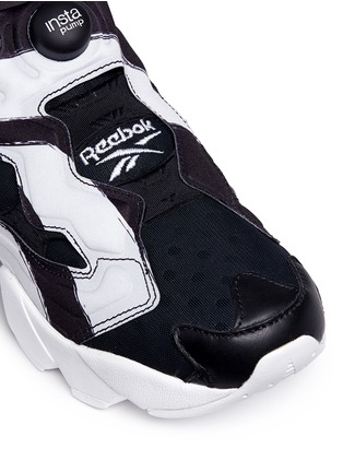 Detail View - Click To Enlarge - Reebok - 'InstaPump Fury OB' slip-on sneakers