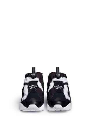 Front View - Click To Enlarge - Reebok - 'InstaPump Fury OB' slip-on sneakers