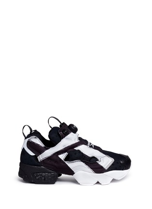 Main View - Click To Enlarge - Reebok - 'InstaPump Fury OB' slip-on sneakers