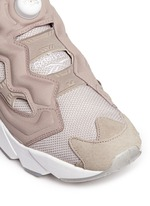 'InstaPump Fury OG BK' slip-on sneakers