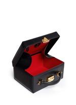 'Grace Box' large saffiano leather trunk