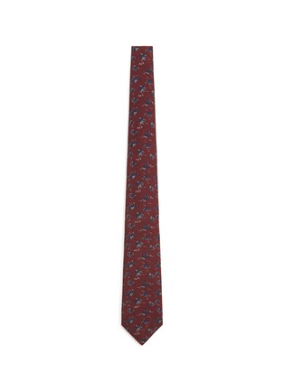 Main View - Click To Enlarge - ISAIA - Floral print wool-silk tie