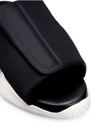 Detail View - Click To Enlarge - Rick Owens - x adidas 'RO Clog' sandals