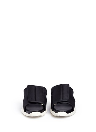 Front View - Click To Enlarge - Rick Owens - x adidas 'RO Clog' sandals