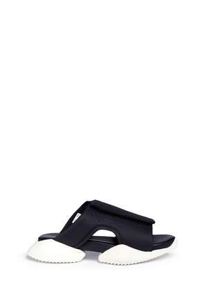 Main View - Click To Enlarge - Rick Owens - x adidas 'RO Clog' sandals