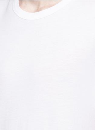 细节 - 点击放大 - T BY ALEXANDER WANG - 单色纯棉T恤