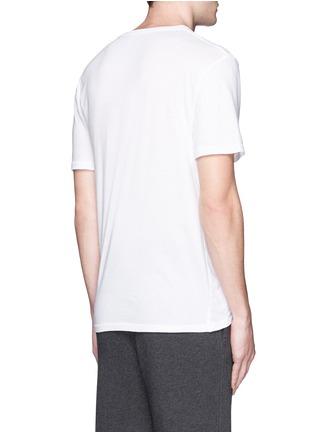 背面 - 点击放大 - T BY ALEXANDER WANG - 单色纯棉T恤