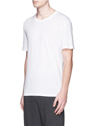 正面 -点击放大 - T BY ALEXANDER WANG - 单色纯棉T恤