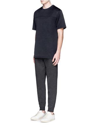 模特儿示范图 - 点击放大 - T BY ALEXANDER WANG - 单色纯棉T恤