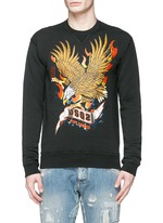 Eagle print sweatshirt