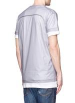 'PALMS' print double layer T-shirt