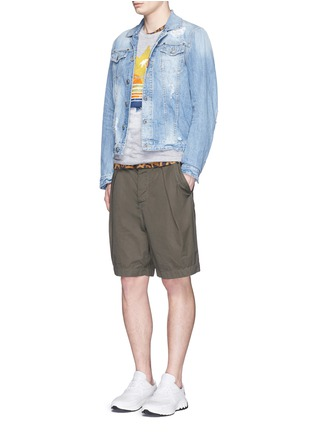 Figure View - Click To Enlarge - Dsquared2 - Tropical maple leaf print T-shirt