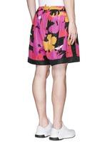Hawaiian floral print shorts