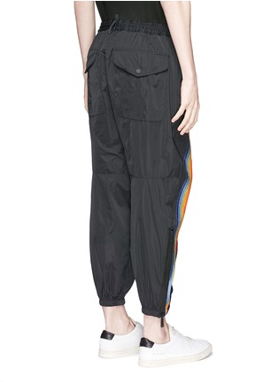 Back View - Click To Enlarge - Dsquared2 - Rainbow appliqué zip cuff pants