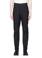 'Spiral' cotton blend tapered pants
