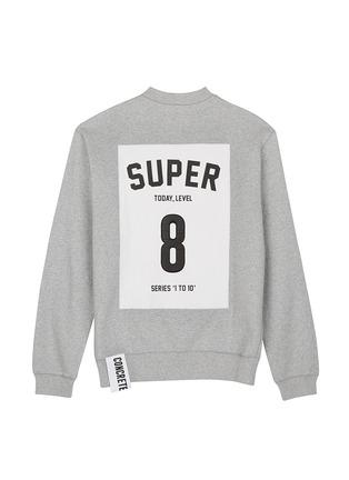 Main View - Click To Enlarge - Studio Concrete - 'Series 1 to 10' unisex sweatshirt - 8 Super