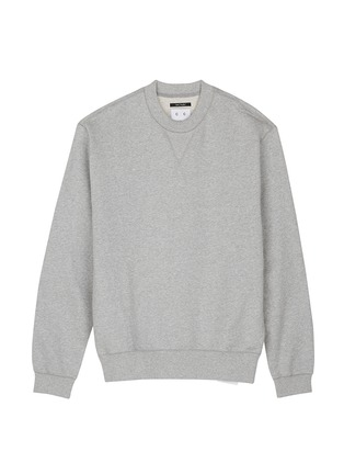 模特儿示范图 - 点击放大 - STUDIO CONCRETE - 中性款心情数字纯棉卫衣