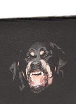 Rottweiler print zip pouch