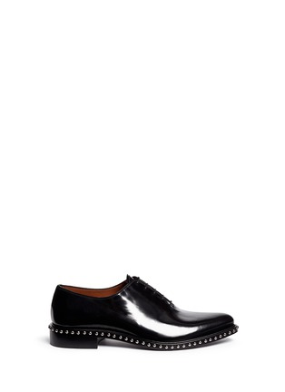 Main View - Click To Enlarge - Givenchy - 'Iconic Studs Richel' leather Oxfords