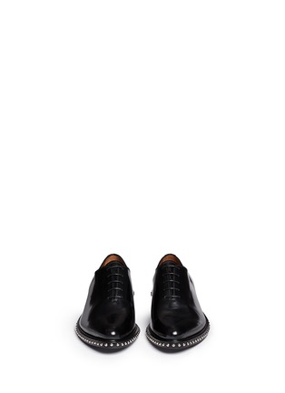 Figure View - Click To Enlarge - Givenchy - 'Iconic Studs Richel' leather Oxfords