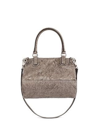 Back View - Click To Enlarge - Givenchy - 'Pandora' medium washed lambskin leather bag