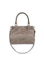 'Pandora' medium washed lambskin leather bag