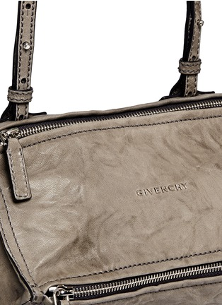 Detail View - Click To Enlarge - Givenchy - 'Pandora' mini washed lambskin leather bag