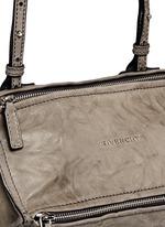 'Pandora' mini washed lambskin leather bag