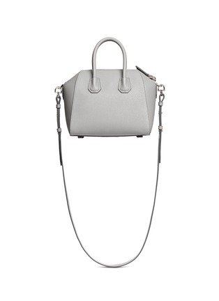 Back View - Click To Enlarge - Givenchy - 'Antigona' mini leather bag