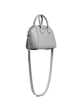 Figure View - Click To Enlarge - Givenchy - 'Antigona' mini leather bag