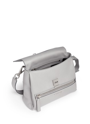 Detail View - Click To Enlarge - Givenchy - 'Pandora Pure' mini leather flap bag