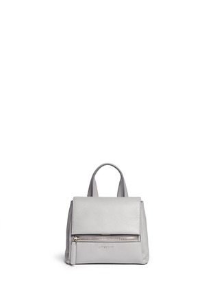 Main View - Click To Enlarge - Givenchy - 'Pandora Pure' mini leather flap bag