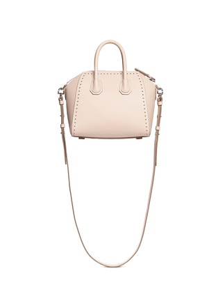 Back View - Click To Enlarge - Givenchy - 'Antigona' mini stud leather bag