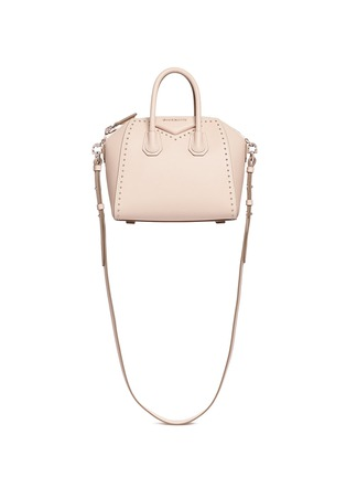 Main View - Click To Enlarge - Givenchy - 'Antigona' mini stud leather bag