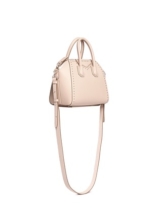 Figure View - Click To Enlarge - Givenchy - 'Antigona' mini stud leather bag