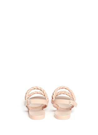 Back View - Click To Enlarge - Givenchy - Chain strap jelly sandals