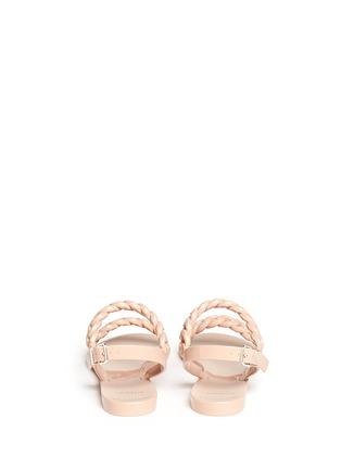 背面 - 点击放大 - GIVENCHY - 锁链造型果冻凉鞋