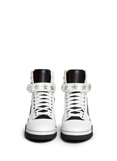 Givenchy 'Tyson' high top star stud leather sneakers