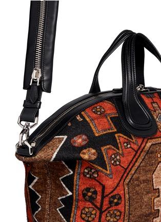 Givenchy-'Nightingale' Persian carpet print bag