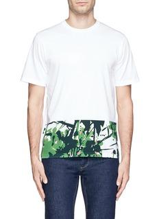 MARNIInksplash floral print T-shirt