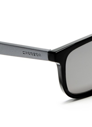Detail View - Click To Enlarge - CARRERA - 'Carrerino 13' junior plastic flat top mirror sunglasses