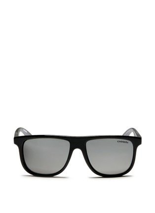 Main View - Click To Enlarge - CARRERA - 'Carrerino 13' junior plastic flat top mirror sunglasses