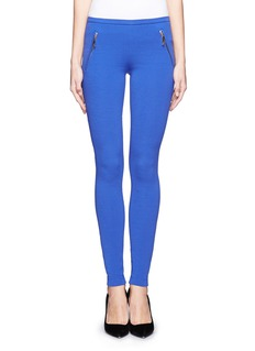 EMILIO PUCCI Side zip pocket leggings
